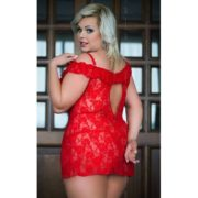 Veronica – Plus Size in Red