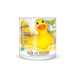 Big Teaze Toys I Rub My Duckie Classic Series Travel-Size in Yellow
