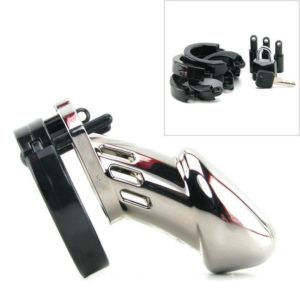 CB-6000 Male Chastity Device in Chrome