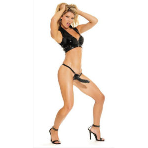 FETISH Fantasy Series Posable Partner Strap-On in Black