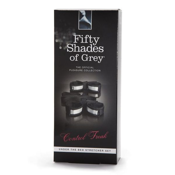 Fifty Shades of Grey Control Freak Under the Bed Stretcher Set in Silver