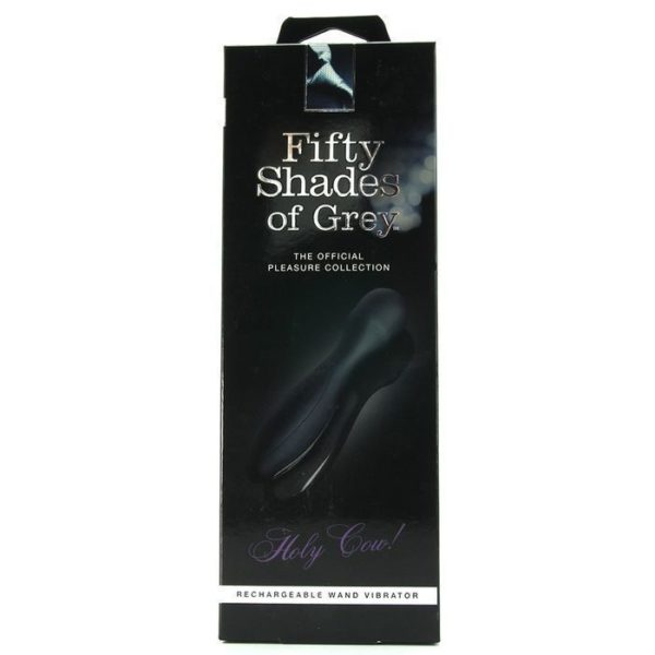 Fifty Shades of Grey Holy Cow USB Rechargeable Wand Vibrator