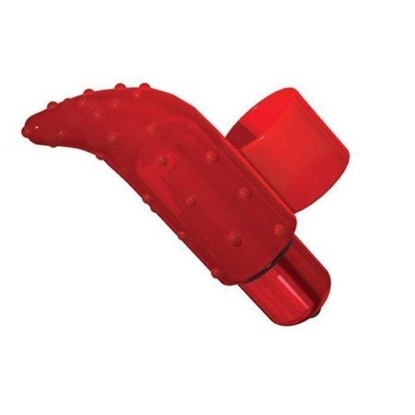 Frisky Finger Unisex Stimulator in Red