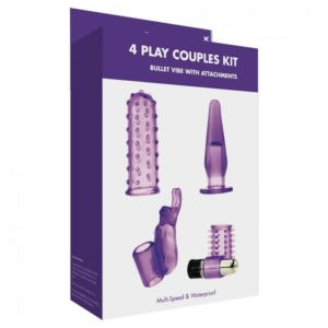 Kinx 4 Play Couples Kit in Purple