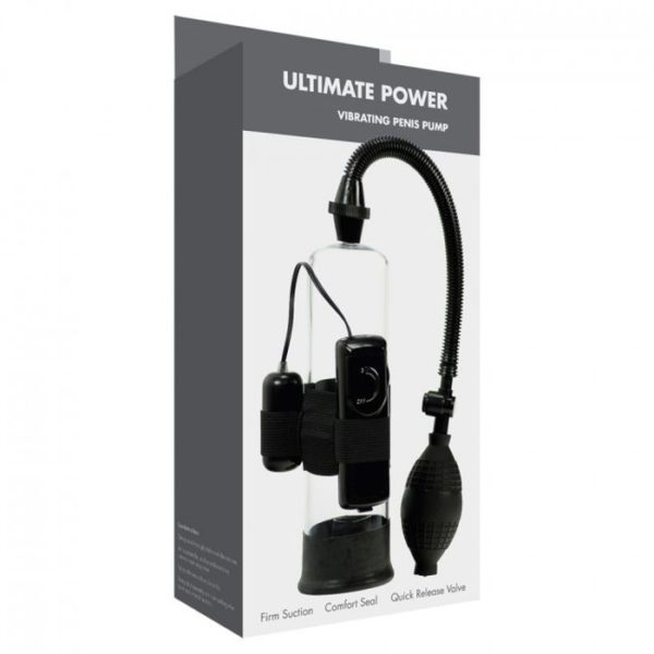 Linx Ultimate Power Penis Pump in Black