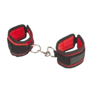 Lux Fetish Love Cuffs in Red
