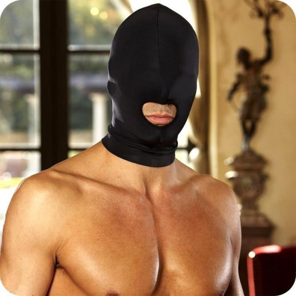 Lux Fetish Open Mouth Stretch Hood