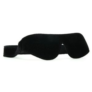 Lux Fetish Unisex Blindfold in Black