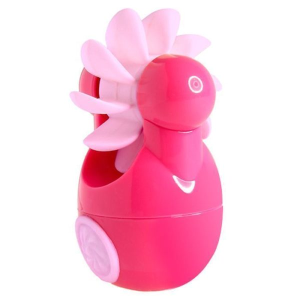 SQWEEL Go USB Rechargeable Oral Sex Simulator in Pink