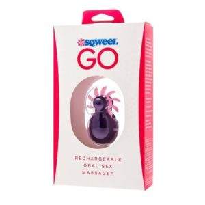 SQWEEL Go USB Rechargeable Oral Sex Simulator in Purple