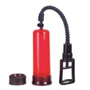 Seven Creations Air Control Penis Pump in Red