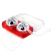 Seven Creations Basics Silver Duo Balls in Plastic Box