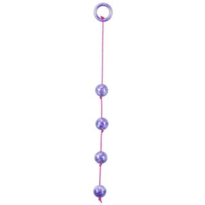 Seven Creations Marble Collection Anal Beads Large in Purple
