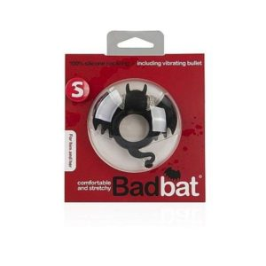 Shots Media Shots Toys S-Line BadBat Vibrating Cock Ring in Black