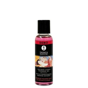 Shunga Intimate Kisses Aphrodisiac Oil in Champagne & Strawberries 60ml