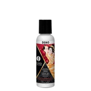 Shunga Kissable Massage Cream in Sparkling Strawberry Wine 60ml