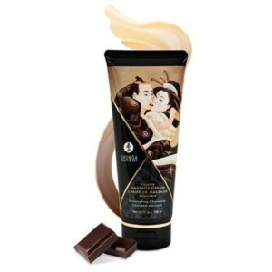 Shunga Kissable Massage Creams 200ml 7fl.oz in Intoxicating Chocolate