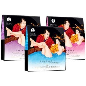 Shunga Love Bath in Sensual Lotus