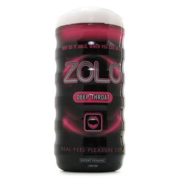 Zolo Deep Throat Cup in Pink Male Masturbator