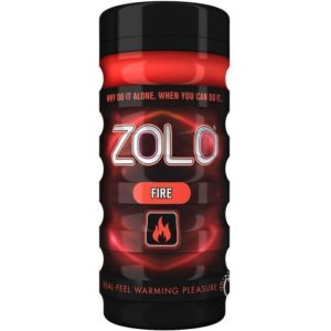 Zolo Fire Cup in Red Male Masturbator
