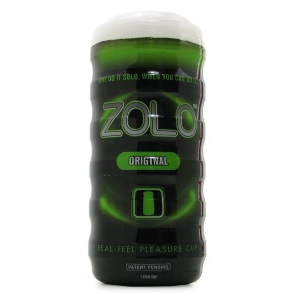 Zolo Original Cup in Green Male Masturbator
