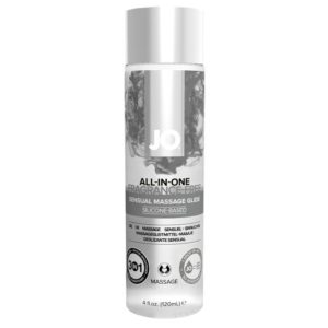 System Jo All In One Sensual Massage Glide Fragrance Free 120ml