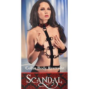 California Exotic Novelties Scandal Collar Body Restraint