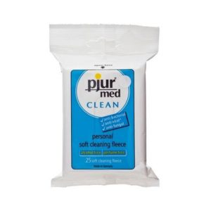 Pjur Med Clean Fleece Wipes 25 Pack