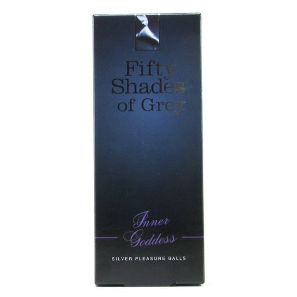 Fifty Shades of Grey Inner Goddess Silver Metal Pleasure Balls
