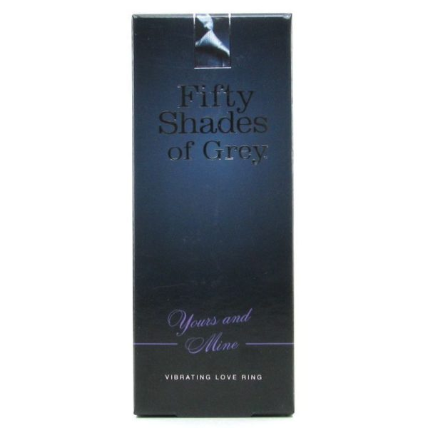 Fifty Shades of Grey Yours and Mine Vibrating Love Ring