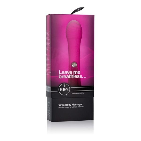 Virgo Body Massager in Raspberry Pink