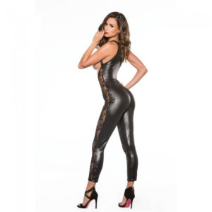 lace-and-wet-look-catsuit-3