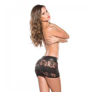 lace-and-wet-look-mini-skirt-3