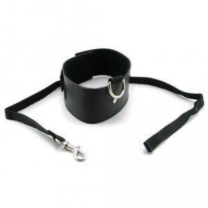 Sex & Mischief Black Leash and Collar