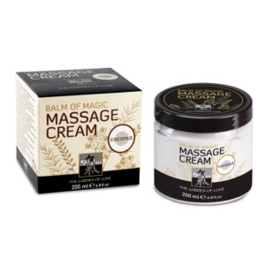 Shiatsu Balm of Magic Massage Cream Coconut 200ml