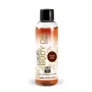 Shiatsu Edible Luxury Body Oil Chocolate-Mint 100ml