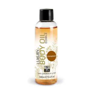 Shiatsu Edible Luxury Body Oil Cinnamon 100ml
