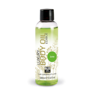 Shiatsu Edible Luxury Body Oil Lime 100ml