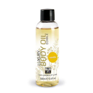 Shiatsu Edible Luxury Body Oil Vanilla 100ml