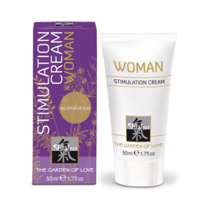 Shiatsu Stimulation Cream for Woman 50ml