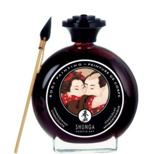 Shunga Edible Body Painting in Aphrodisiac Chocolate 100ml