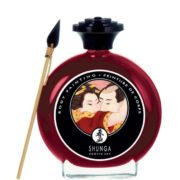 Shunga Edible Body Painting in Strawberries & Champagne 100ml