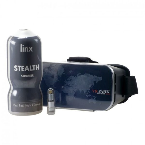 Linx Cyber Pro Stealth Stroker & Vr Headset Transparent