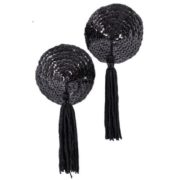Black Nipple Tassels