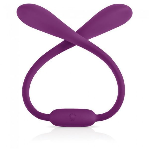 Jimmy Jane Live Sexy Ascend 7 Dual Ended Flexible Vibrator in Purple