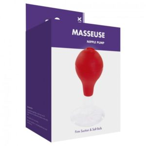 Kinx Masseuse Nipple Pump in Red