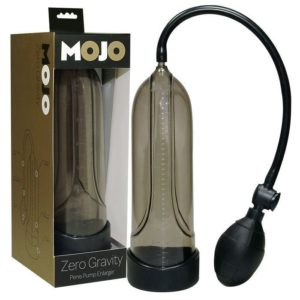 Seven Creations Mojo Zero Gravity Penis Pump in Black