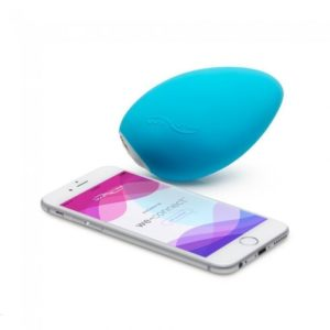 We-Vibe Wish USB Rechargeable Clitoral Vibrator in Blue