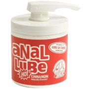 Doc Johnson Anal Lube Hot Cinnamon in Pump Dispenser 175ml