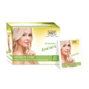 HOT Intimate Care Cleaning Towel with Aloe Vera 20 Sachets